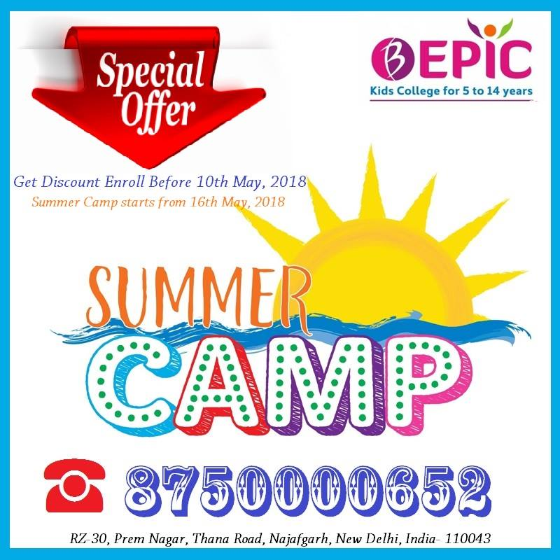 Summer Camp 2018 Registration